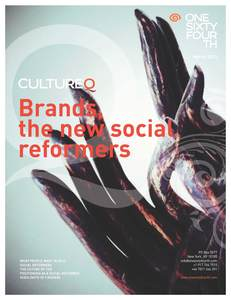 Cover for CultureQ: Brands, the new social reformers
